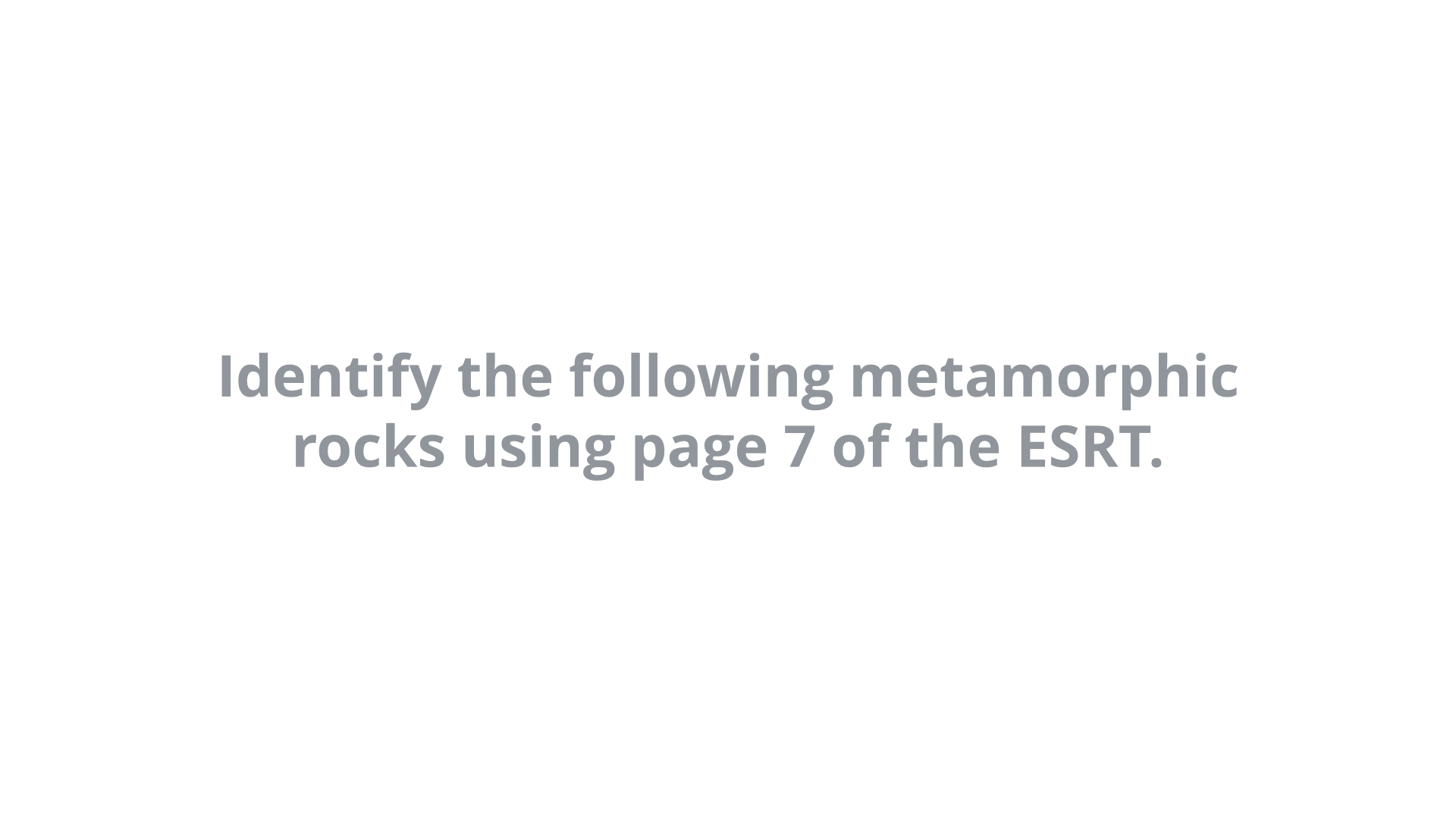 'Metamorphic