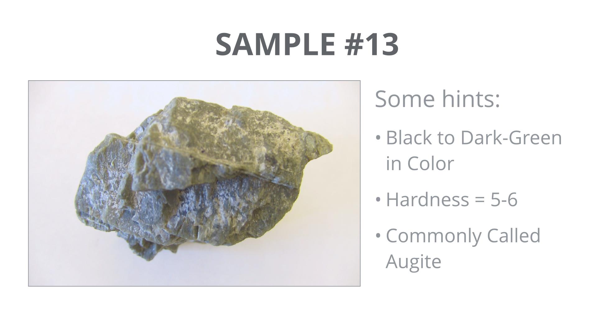 'Minerals